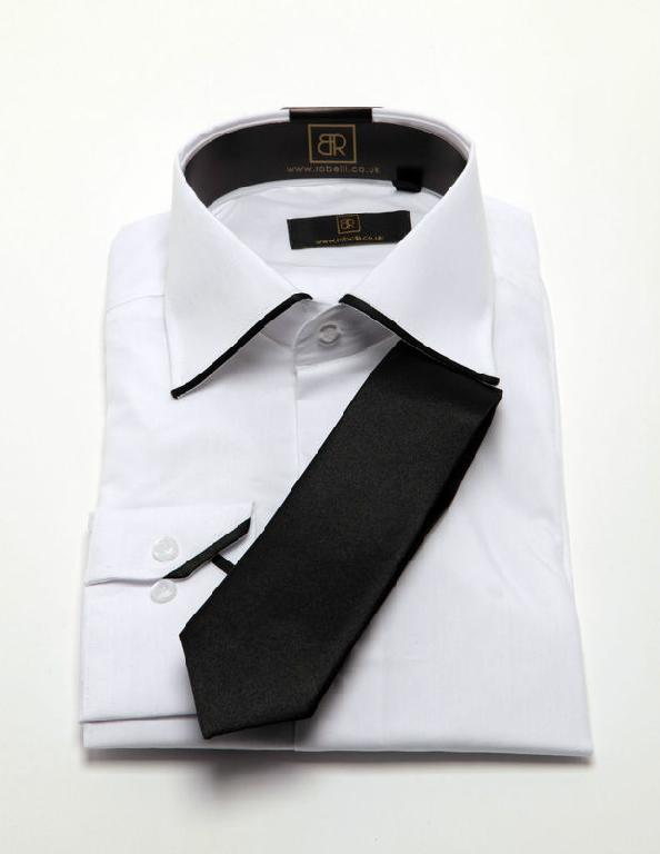 Similiar White Shirt With Black Trim Keywords